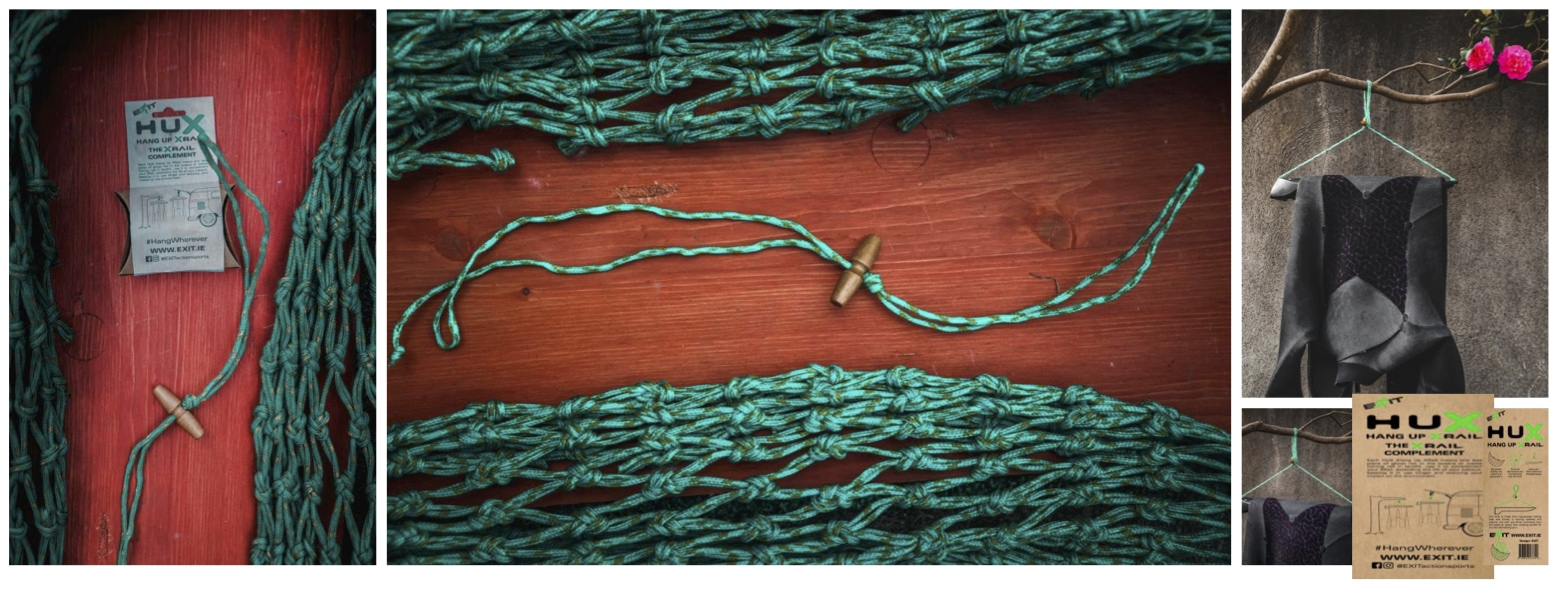 XRail Wetsuit hanger wetgear hanger by Exit